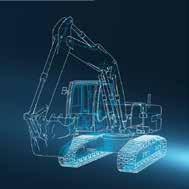 Anleggsmaskiner illustrasjon