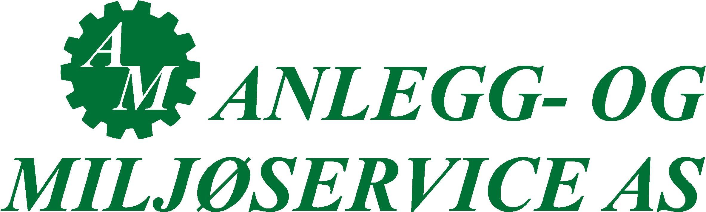 Logo Anlegg- og Miljøservice AS