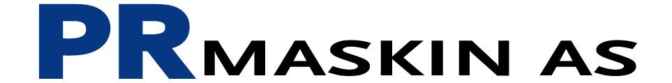 Logo PR Maskin AS