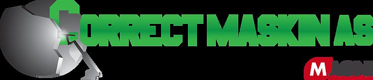 Logo Correct Maskin AS